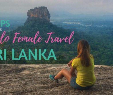 Solo Female Travel Sri Lanka
