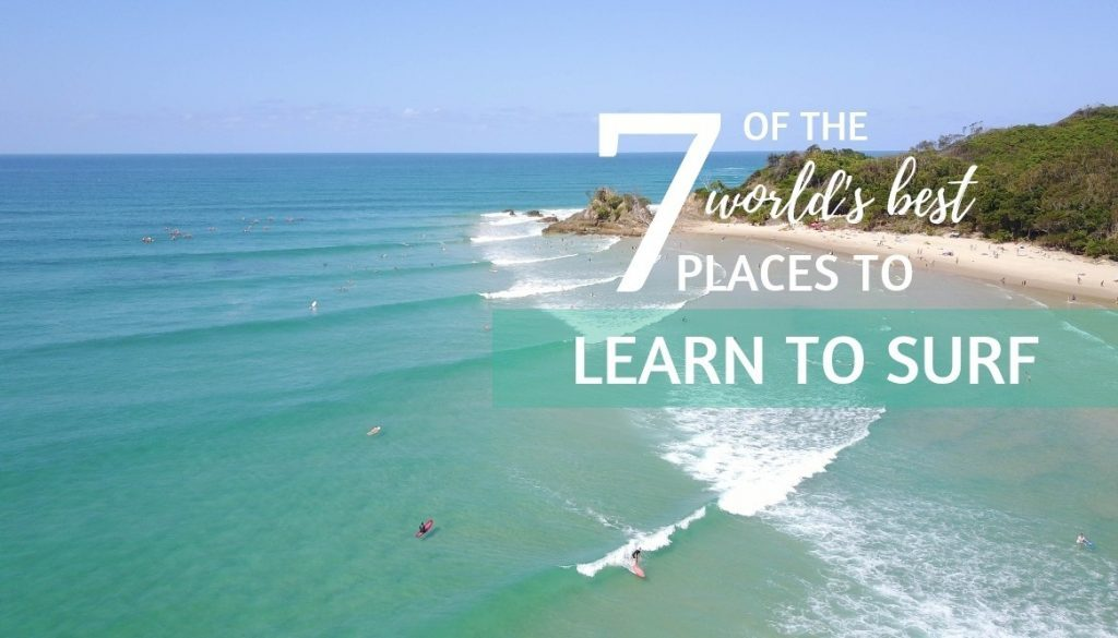 7 of the worlds best places to learn to surf