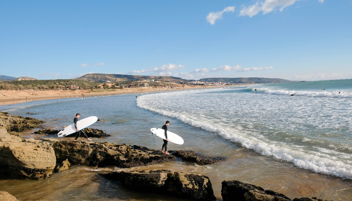 Best places in the world to learn to surf - Taghazout