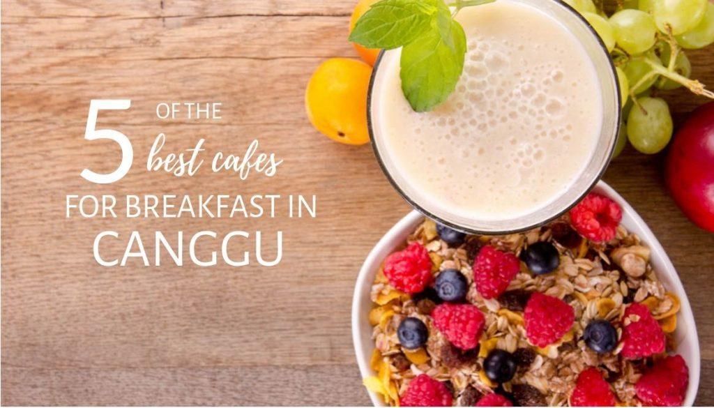 Best cafes breakfast Canggu Title
