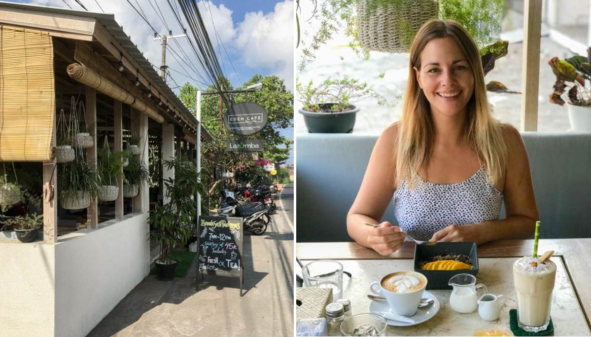 Best places for breakfast Canggu - Eden Cafe
