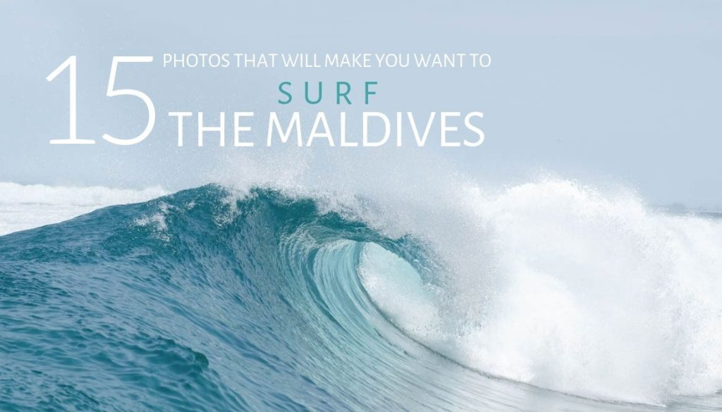 Surfing the Maldives photos