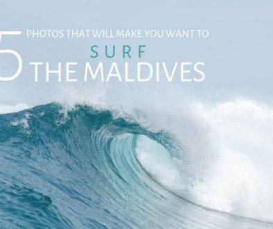 Surfing the Maldives photos